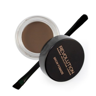 Помадка для бровей MakeUp Revolution Brow Pomade Ash Brown: фото