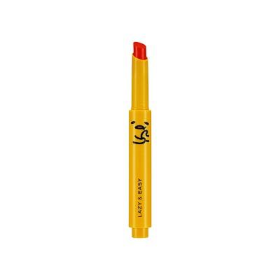 Тинт для губ Holika Holika Gudetama Melting Lip Button тон OR02, апельсиновый мармелад: фото