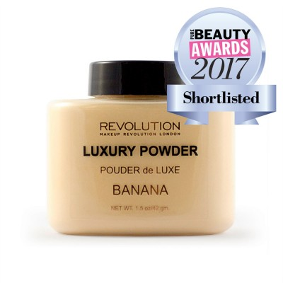 Рассыпчатая пудра Makeup Revolution Luxury Banana Baking Powder: фото