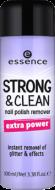 Жидкость для снятия лака Strong & clean nail polish remover Essence 02: фото