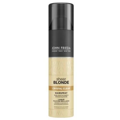 Прозрачный лак для создания формы и сияния светлых волос John Frieda Sheer Blonde 250 мл: фото