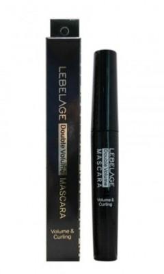 Тушь для ресниц водостойкая объемная LEBELAGE Double volume waterproof mascara: фото