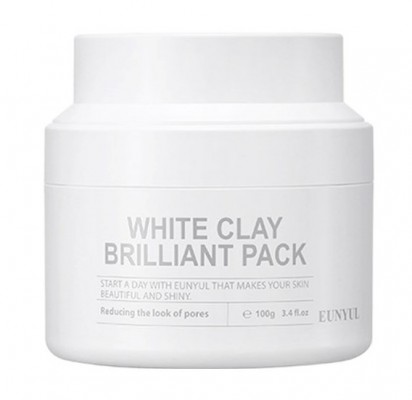 Маска очищающая с белой глиной EUNYUL White clay brilliant pack 100 мл: фото