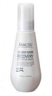 Восстанавливающая сыворотка-масло RAMOSU Recovery oil drop serum 100 мл: фото