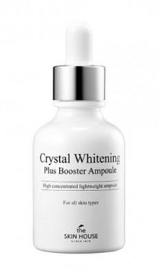 Сыворотка-бустер ампульная Осветляющая THE SKIN HOUSE Crystal whitening plus ampoule 30мл: фото