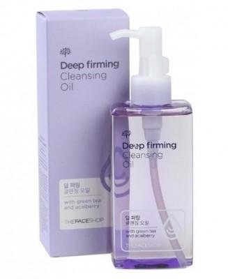 Гидрофильное масло для жирной кожи THE FACE SHOP Oil Specialist Deep Firming Cleansing Oil: фото