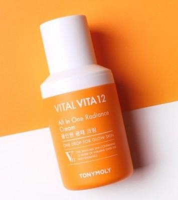 Крем для лица TONY MOLY Vital vita 12 synergy all in one radiance cream 40 мл: фото