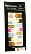 Наклейки для ногтей TONY MOLY Professional design nail patch 10: фото