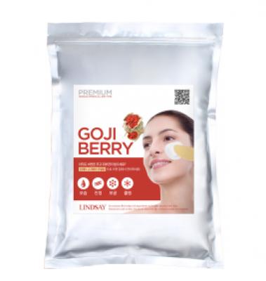 Альгинатная маска с ягодами годжи LINDSAY Premium goji berry modeling mask pack 1 кг: фото