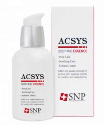 Успокаивающая эссенция SNP ACSYS soothing essence 50 мл: фото