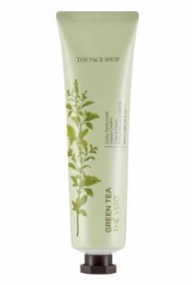 Крем для рук парфюмированный Зеленый чай THE FACE SHOP Daily perfumed hand cream 05 Green Tea 30 мл: фото
