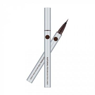 Подводка для глаз MISSHA Natural Fix Brush Pen Liner Brown: фото
