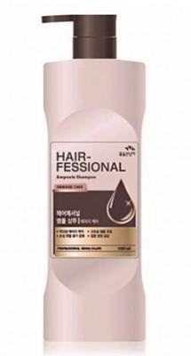Восстанавливающий шампунь COSMOCOS Hair-fessional ampoule shampoo 1000мл: фото