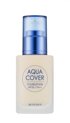 Тональный крем для лица MISSHA Aqua Cover Foundation SPF20/PA++ No.C21: фото
