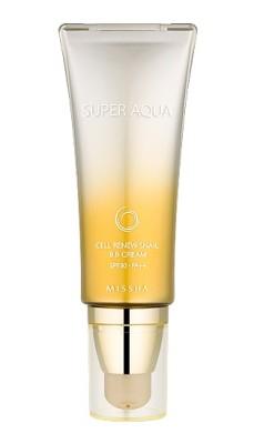 Тональный крем MISSHA Super Aqua Cell Renew Snail BB Cream SPF30/PA++: фото