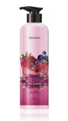 Гель для душа Ароматерапия - Ягодный микс DEOPROCE Healing mix & plus body cleanser mix berry 750г: фото