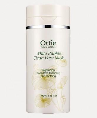 Кислородная маска для очищения пор OTTIE White Bubble Clean Pore Mask 100мл: фото