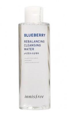 Очищающая вода INNISFREE Blueberry Rebalancing Cleansing Water: фото