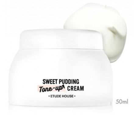 Крем-пудинг для сухой кожи ETUDE HOUSE Pudding Tone Up Cream Moisture: фото
