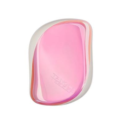 Расческа TANGLE TEEZER Compact Styler Holo Hero розовый: фото
