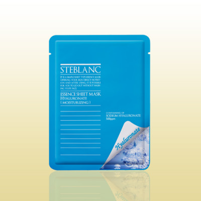 Маска увлажняющая с гиалуроновой кислотой STEBLANC Essence sheet mask-hyaluronate: фото