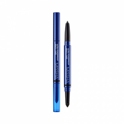 Карандаш для глаз MISSHA Ultra Powerproof Pencil Liner Black: фото