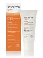 Крем корректирующий тон кожи SESDERMA C-VIT CC Cream 30мл: фото