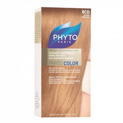 Краска для волос PHYTOSOLBA Phyto Color 8CD Рыжеватый блонд: фото