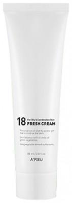 Крем для молодой комбинированной кожи A'PIEU 18 Fresh Cream For Oily&Combination Skin: фото