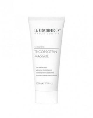Маска увлажняющая для сухих волос с мгновенным эффектом La Biosthetique Mask Tricoprotein 100 мл: фото