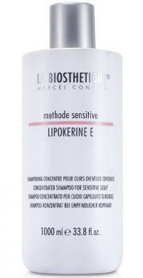 Шампунь для чуствительной кожи головы La Biosthetique Lipokerine E Shampoo For Sensitive Scalp Concentrate 1000 мл: фото