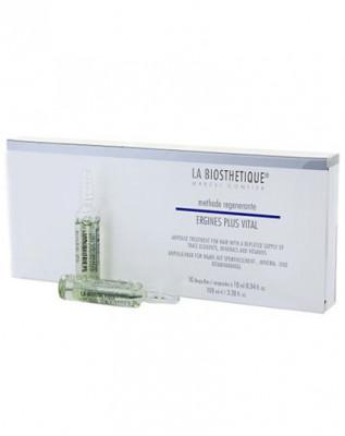 Сыворотка питательная для укрепления волос La Biosthetique Ergines Plus Vital 10шт: фото