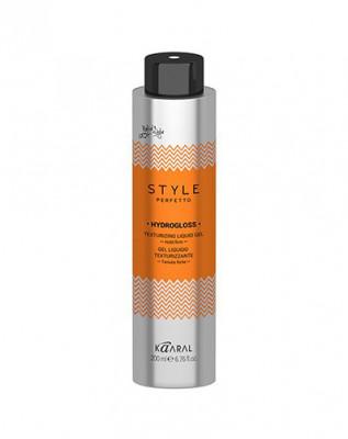Гель жидкий для текстурирования волос Kaaral Style Perfetto HYDROGLOSS TEXTURIZING LIQUID GEL 200мл: фото