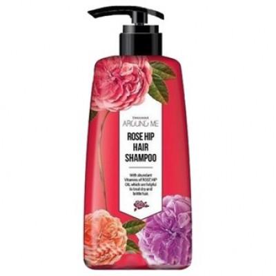 Шампунь для волос Welcos Around me Rose Hip Hair Shampoo 500мл: фото