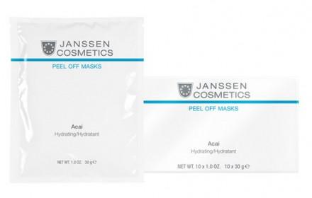 Маска альгинатная с ягодами Janssen Cosmetics Асаи Acai Hydrating 30г: фото