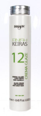 Глазурь для гладких/кудрявых волос Dikson FINISH CREMA GLAZE 12 250мл: фото
