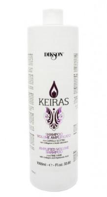 Шампунь увеличение объема для тонких волос Dikson Keiras SHAMPOO VOLUME AMPLIFICATO 1000мл: фото