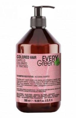 Шампунь для окрашеных волос Dikson COLORED-HAIR SHAMPOO PROTETTIVO 500мл: фото