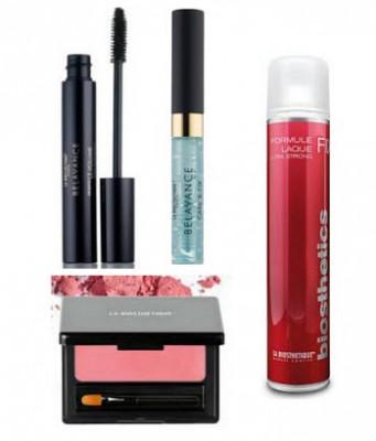 Набор в тубе La Biosthetique Beauty Box Суббота: Care & Fix Lash Conditioner 5 мл, Perfect Volume Black 8 мл, Lips & Cheeks Daily Rose 3,2 г, Formule Laque ultra Strong 75 мл: фото