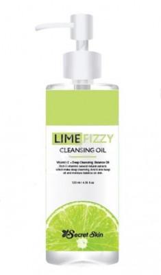 Гидрофильное масло SECRET SKIN LIME FIZZY CLEANSING OIL 150мл: фото