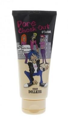 Пенка для умывания охлаждающая Baviphat Dollkiss The Big Pore Check-out Foam 300мл: фото