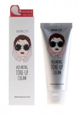 Крем для лица увлажняющий осветляющий Baviphat Urban City Aquaring Tone-up Cream 100мл: фото