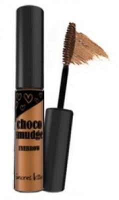 Гель-фиксатор для бровей темный шоколад SECRET KEY Choco Smudge Eyebrow SECRET KEY Milk Choco 5г: фото