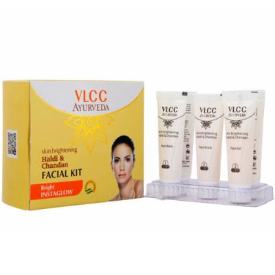 Набор для осветления кожи лица VLCC Халди и Сандал: фото