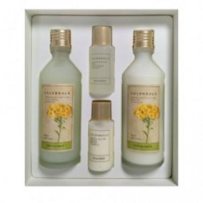 Набор для лица с экстрактом календулы The Face Shop Calendula Essential Misture Skincare Set: фото