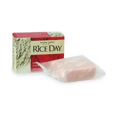 Мыло CJ Lion Rice day с экстрактом граната и пиона 100г: фото