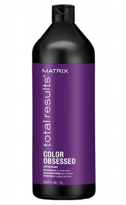 Шампунь с антиоксидантами Matrix Total results Color Obsessed 1000 мл: фото