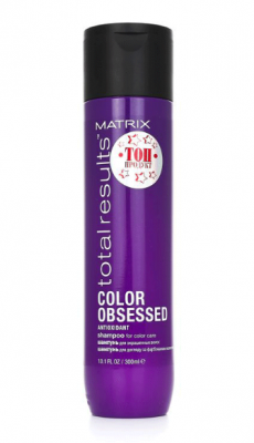 Шампунь с антиоксидантами Matrix Total results Color Obsessed 300мл: фото