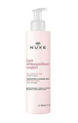 Молочко-комфорт с лепестками роз Nuxe aux Petales de Rose 200 мл: фото