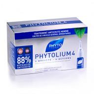 Сыворотка против выпадения волос Phytosolba Phytolium4 3,5мл*12: фото